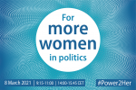 For more women in politics web 900x600