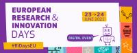 EUROPEAN RESEARCH DAYS 2021